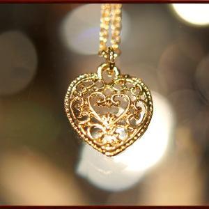 BERNARD ハートネックレス   ペンダント ネックレス チャーム 教会 925 指輪 ヴィンテージ|savanna-tokyo|02