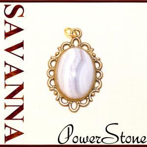 ブルーレースアゲートストーン ペンダントTOP  天然石PowerStone 意味 ビーズ ペンダント 通販 アクセサリー パーツ 効果|savanna-tokyo