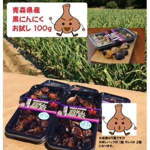 黒にんにく 青森県産 バラお試し100g×2 沢田ファーム自家製