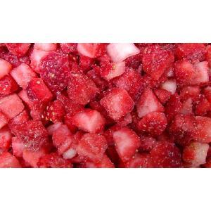 冷凍フルーツ ストロベリー(ダイス) 1kg