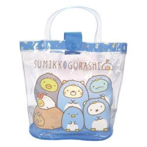 キャラクタープールバッグ 小物袋付き バケット型 フラップ付き マチアリ 27.5×27×14cm サンエックス|sawadaya-net