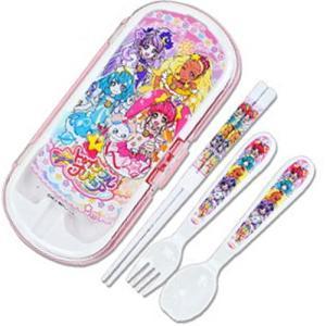 TVキャラクター トリオセット 子供用 食洗機対応 プラスチック ハシ スプーン フォーク sawadaya-net