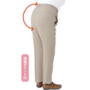 婦人吸汗速乾Cラインパンツ S〜3L 後ろが長く背中が出にくい 【春夏】|sawadaya-net