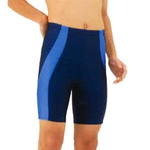 男子スクール水着 ブルーライン 120〜140cm トップエース スパッツタイプ|sawadaya-net