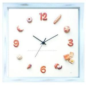 パン 掛け時計 かわいい|sawagift