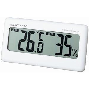 「商品情報」 ●温度と湿度を表示し、お部屋の環境管理に便利。 ●【サイズ】高:75mm×幅:145m...