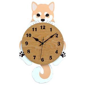 置き時計 掛け時計 ナチュラル 約20×34×5.5cm G-1182N|sawagift