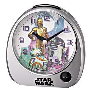 スターウォーズ 目覚し時計 BB-8 R2-D2 C-3PO デザイン|sawagift