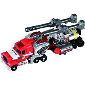 火災現場で活躍するサポートビークル、それがレスキュータンク!レスキューキャノンとメインタンクブースタ...