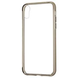 iPhone XR用 ハイブリッドケース ブラック|sawagift