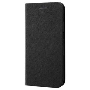 iPhone XR用 手帳型ケース マグネットタイプ ブラック|sawagift