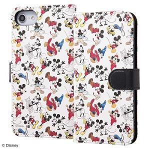 iPhone8 7 6s 6 スマホケース ディズニー ミッキー 手帳型 レザーケース かわいい|sawagift