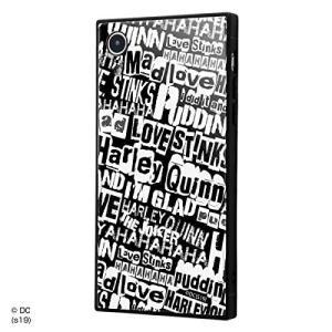 iPhone XR バットマン 耐衝撃ガラスケース KAKU ジョーカー&ハーレー・クィン IQ-WP18K1B/BM002|sawagift
