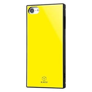iPod touch 第7世代 ケース 耐衝撃 ハイブリッドケース KAKU イエロー アイポッドタ...