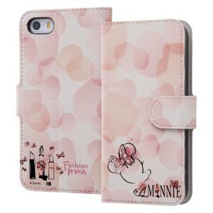iPhone SE ケース ミニーマウス ディズニー 手帳型 マグネット|sawagift