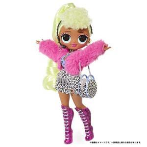 ドール L.O.L. サプライズ! O.M.G. レディ ディーバ スタンド付き 人形 ポージング ...