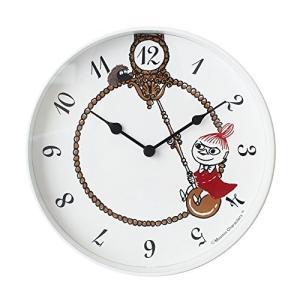 ムーミン 掛け時計 リトルミイ スイング MTP030024 MOOMIN timepiecies ウォールクロック|sawagift