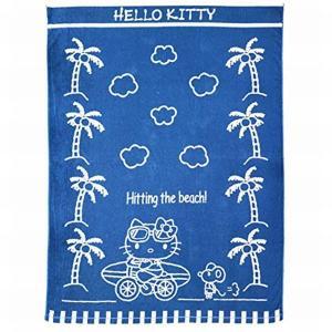 サンリオ キャラクターズ ハローキティのタオルケットです 肌触りの良い綿100%のタオルケットです ...