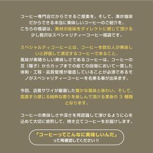 (澤井珈琲) 送料無料 コーヒー専門店でしか買えない 本当に美味しいスペシャリティー福袋第5弾 (コーヒー豆/珈琲豆/スペシャリティ)|sawaicoffee|04
