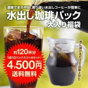 アイスコーヒー 水出しコーヒー コーヒー コールドブリュー 送料無料 専門店 極上 水出し珈琲 福袋...