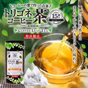 コーヒーの葉で作ったお茶 トリゴネコーヒー茶 15袋(テトラパック) グルメ