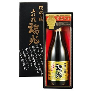 日本酒 ギフト 純米大吟醸 瑞兆(ずいちょう)720ml sawanotsuru-junmai