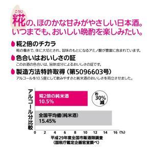 日本酒 純米酒 米だけの酒 糀2倍の純米酒 900mlパック sawanotsuru-junmai 03