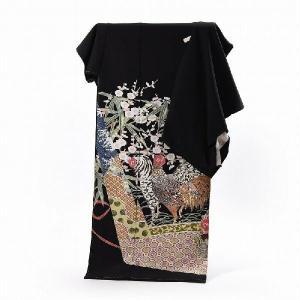 逸品呉服 さわらびほりだし堂◆ 商品説明 ◆黒留袖 送料無料 フルオーダー手縫いお仕立てと五つ紋入れ...