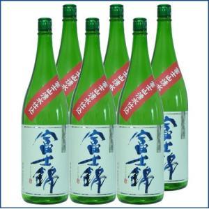 日本酒 富士錦 湧水仕込 純米酒  1800ml ×6本セッ...