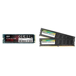 シリコンパワー SSD 512GB 3D NAND M.2 2280 PCIe3.0×4 NVMe1...
