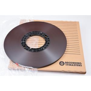 オープンリールテープ RECORDING THE MASTERS LPR35 1/4インチ幅 Pancake
