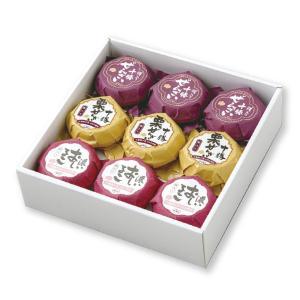 冬ギフトお届け期間は11月1日〜12月30日まで おしるこ・ぜんざい3種セット(9個入)(常温品配送) 北海道 十勝産小豆100%使用 お取り寄せ|sazae-shop