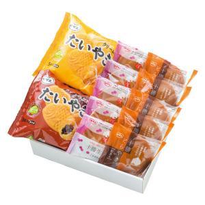 冬ギフトお届け期間は11月1日〜12月30日まで たいやき・どらやきセット(冷凍品配送) 北海道 十勝産小豆100%使用|sazae-shop