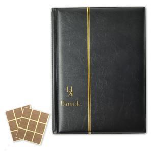 ビックリマンチョコシール用ファイル アルバム コレクション ケース B5サイズ 240枚収納 ブラック|sazanami-store