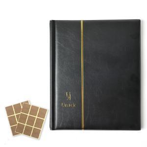 ビックリマンチョコシール用ファイル アルバム コレクション ケース A4サイズ 400枚収納 ブラック|sazanami-store