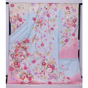 新品フルセット振袖 販売 正絹 振袖・帯フルセット 着物-FS-006- 身長 自由 あなたのサイズに [成人式・20歳の儀式] [送料無料]|sazanamijapan