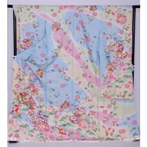 新品フルセット振袖 販売 正絹 振袖・帯フルセット 着物-FS-012- 身長 自由 あなたのサイズに [成人式・20歳の儀式] [送料無料]|sazanamijapan