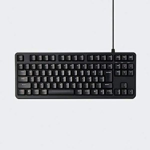 エレコム ゲーミングキーボード/日本語配列/キーキャップ付属/ブラック|sazanamisp