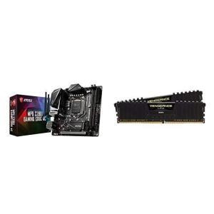 セット買いMSI MPG Z390I GAMING EDGE AC Mini-ITX ゲーミングマザ...