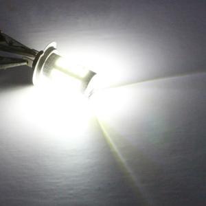 Ranzek H7 LED電球5630 33-SMD LEDフォグ駆動ヘッドライトDRLバルブホワイト(2個) sazanamisp