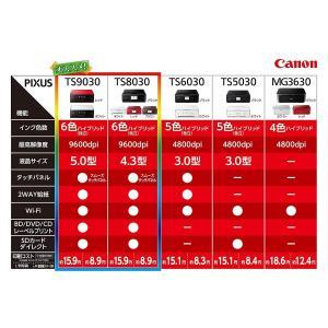 旧モデル Canon インクジェットプリンター複合機 TS6030 WH ホワイト|sazanamisp