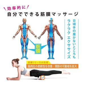 ACEFITS フォームローラー グリッドフォームローラー トリガーポイント&筋膜リリースモデル 説明書付き (オレンジ)|sazanamisp