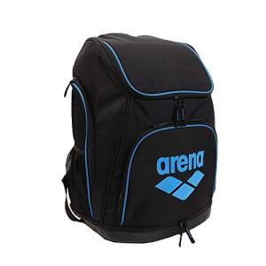 arena(アリーナ) プールバッグ 水泳 リュック AEANJA01 ブラック×ブルー sazanamisp