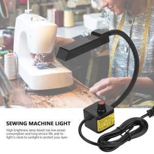 LEDデスクライト ミシン用ライト 裁縫作業用ライト マグネットベース 30枚電球 高輝度 360°調節可能 ブックライト sazanamisp