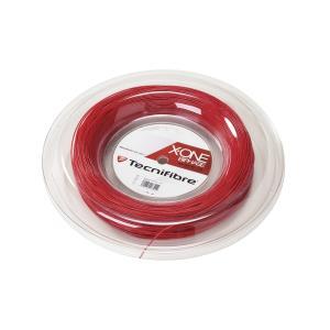 テクニファイバー(Tecnifibre) スカッシュ用ストリング、ゲージ1.18mm 200m X-ONE RED 1.18 TF 118R