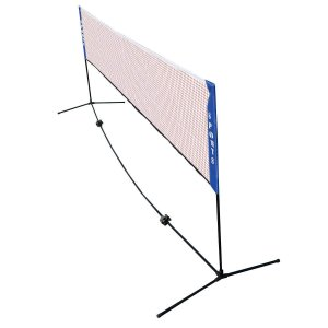 Costway バドミントンネット 幅4.2m 高さ1.55m バドミントン 練習用 ネット テニスネット 収納袋付き 組み立て簡単 コンパ