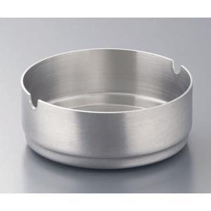 フラット ステンレススタッキング丸灰皿 レスト付 8cm/62-6761-47|sazanamisp