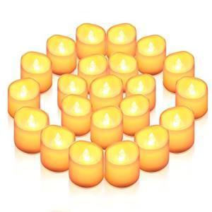 AMIR LED キャンドルライト LEDキャンドル ろうそく 癒しの灯り 揺らぐ炎 リアル感 火を使わない 安全 省エネ 長持ち 便利 お|sazanamisp