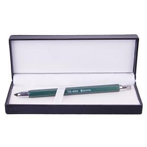 鉛筆 シャープペンシル 4.0mm 太い芯 素描木炭 チャコール 替芯 ホルダー 高級 シャープペン 折れにくい 製図ペン デッサン 建築|sazanamisp