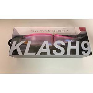 DRT KLASH9# 長谷川ピンク ver.1 クラッシュ9 希少 琵琶湖 ビッグベイト タイニークラッシュ 人気カラー sazanamisp